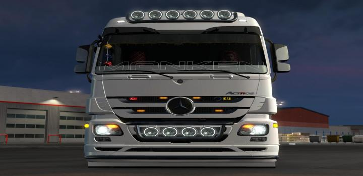 Photo of ETS2 – Mercedes-Benz Actros (1.39.x)