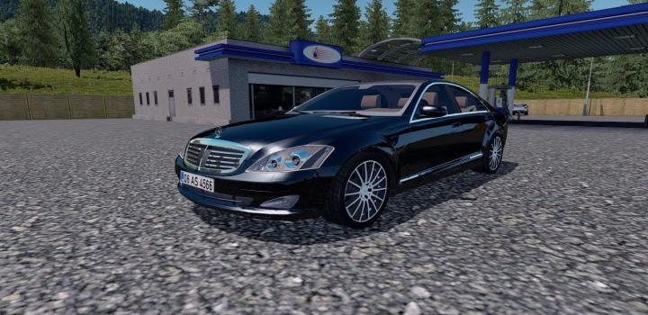 Photo of ETS2 – Mercedes-Benz S350 V4 (1.39.x)