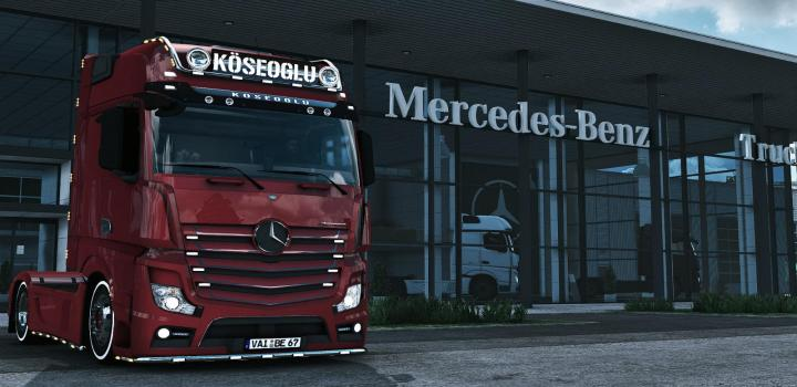 Photo of ETS2 – Mercedes Mp4 Koseoglu Edit (1.39.x)