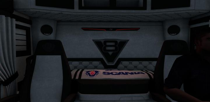 Photo of ETS2 – New Interior Scania S (1.39.x)