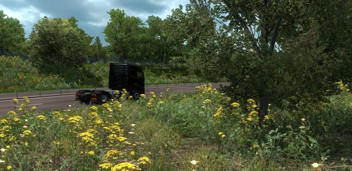 Photo of ETS2 – New Summer Graphics/Weather V3.7 (1.39.x)