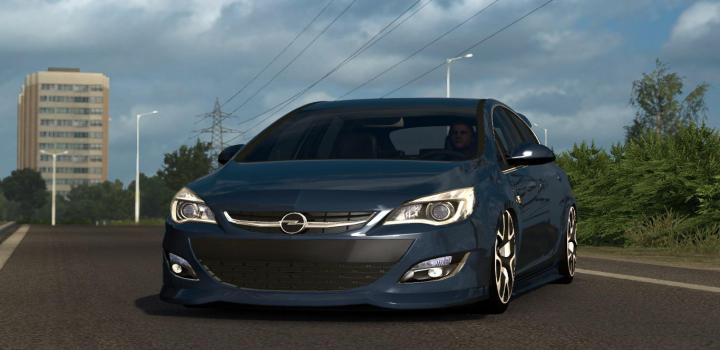 Photo of ETS2 – Opel Astra J V1R50 (1.39.x)