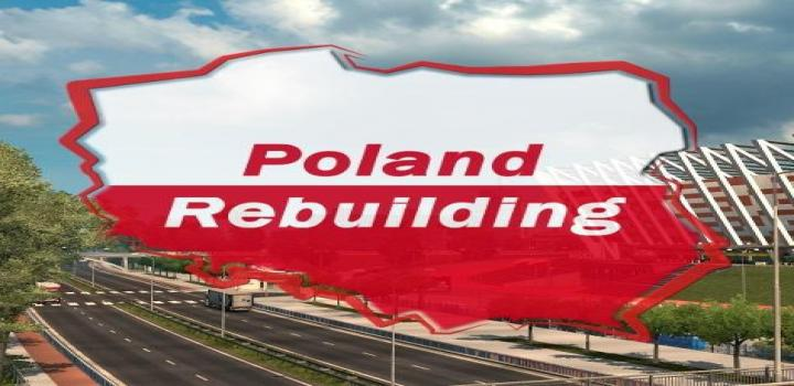 Photo of ETS2 – Poland Rebuilding V2.4.4 (1.39.x)