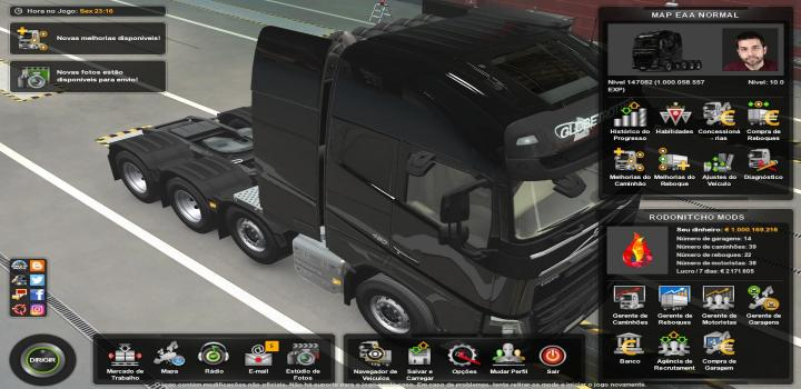 Photo of ETS2 – Profile Mapa Eaa By Restanho 5.5 (1.39.x)