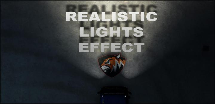 Photo of ETS2 – Realistic Lights Effect V1 (1.39.x)