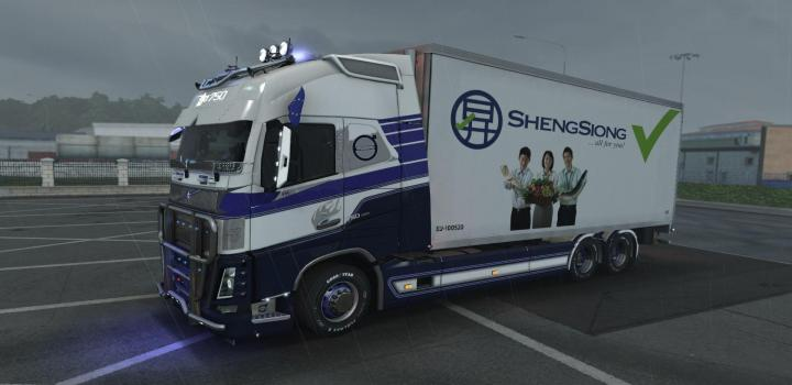 Photo of ETS2 – Rpie Volvo Fh16 2012 V1.39.1.5S