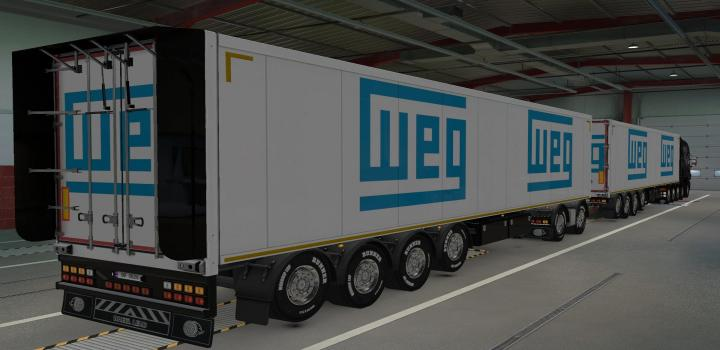 Photo of ETS2 – Skin Owned Trailers Weg (1.39.x)