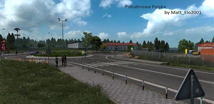 Photo of ETS2 – Southern Poland V1.2 (1.39.x)