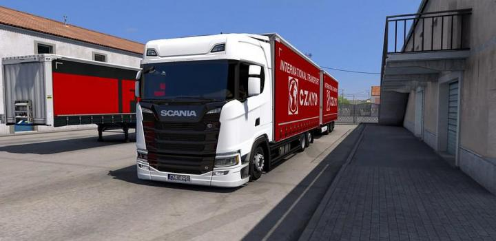 Photo of ETS2 – Tandem Krone For Scania Ng P/G/R/S V1.1 (1.39.x)