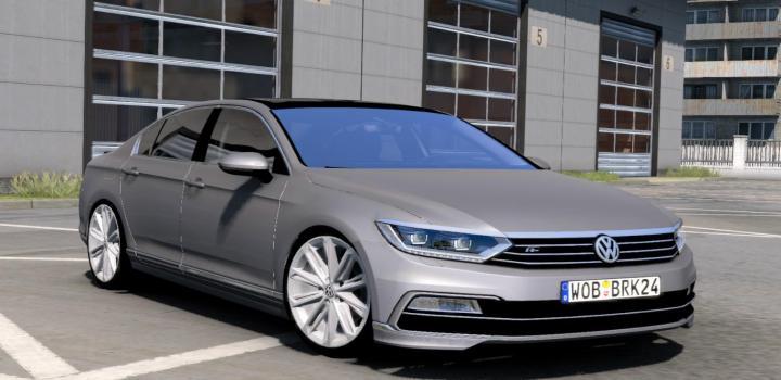 Photo of ETS2 – Volkswagen Passat V1R50 (1.39.x)
