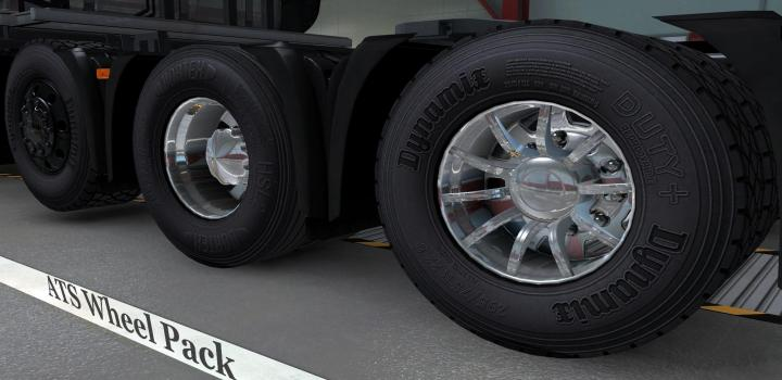 Photo of ETS2 – Wheel Pack (1.39.x)