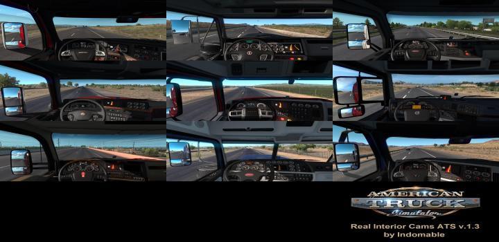 Photo of ATS – Real Interior Cams V1.3 (1.39.x)