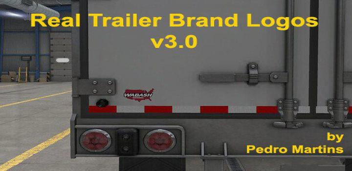 Photo of ATS – Real Trailer Brand Logos V3 (1.39.x)