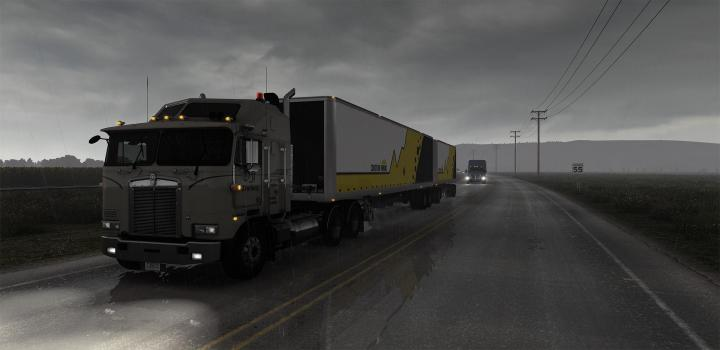 Photo of ATS – Realistic Rain V3.8 (1.39.x)