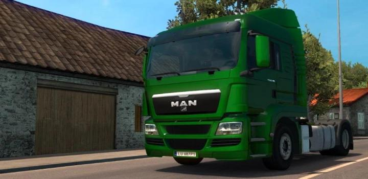Photo of ETS2 – Fix For Man Tgs V1.3 (1.39.x)