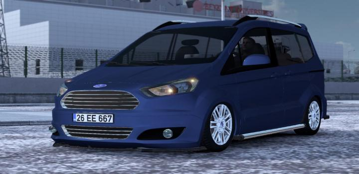 Photo of ETS2 – Ford Tourneo Courier V1R50 (1.39.x)