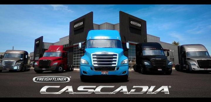 Photo of ETS2 – Freightliner Cascadia (1.39.x)
