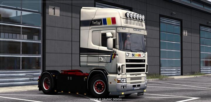 Photo of ETS2 – Great Union Day Rjls Scania R4 Skin V1.0 (1.39.x)