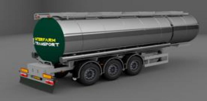Photo of ETS2 – Lag Food Cistern Trailer (1.39.x)