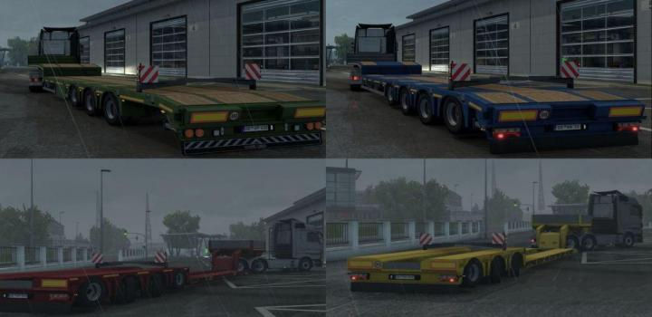Photo of ETS2 – Lift-Able Axle for Lowbed And Lowloader V1.1 (1.39.x)