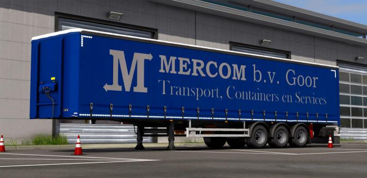 Photo of ETS2 – Mercom Goor Ownable Trailer Skin V1.0 (1.39.x)