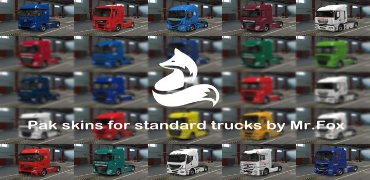 Photo of ETS2 – Pack Of Russian Skins For Scs Trucks V0.4.2 (1.39.x)