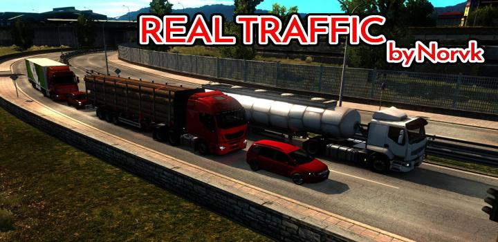 Photo of ETS2 – Realistic Traffic Density (1.39.x)