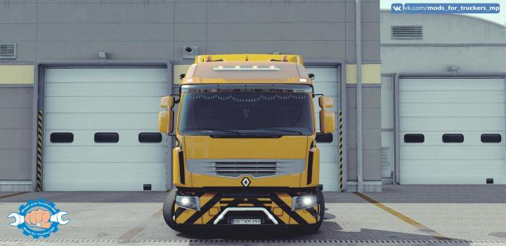 Photo of ETS2 – Renault Premium Tuning Mp (1.39.x)