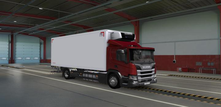 Photo of ETS2 – Scania P220 Day Cab (1.39.x)