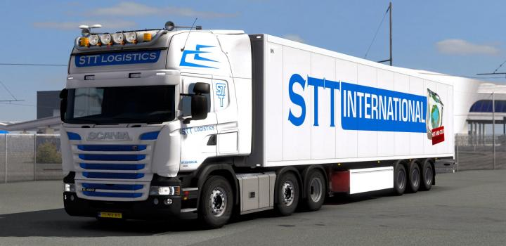 Photo of ETS2 – Stt Logistics Skins (1.39.x)
