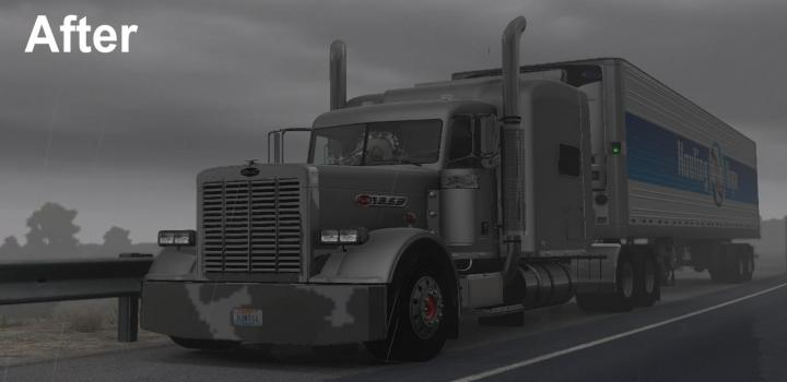 Photo of ATS – Chrome Part Fix for Viper2S Peterbilt 389 Updated 22.01.21 (1.39.x)