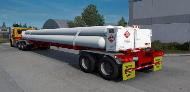 Photo of Cng 7Tubes Iso 48Ft Trailer V2.3 ATS 1.39