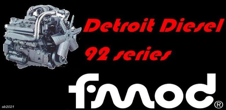 Photo of Detroit Diesel 92 Series V1 ATS 1.39