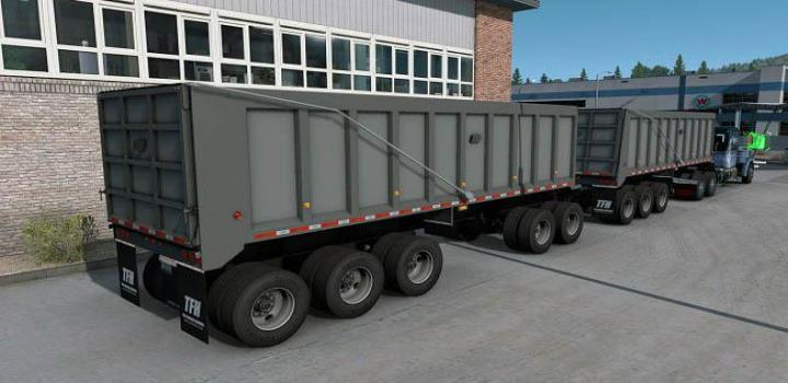 Photo of East Super Train Trailer V1 ATS 1.39