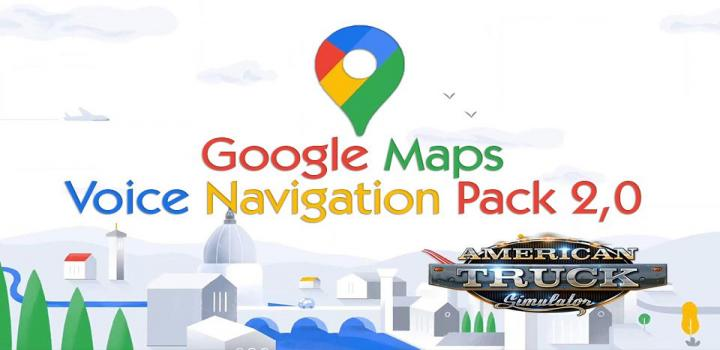 Photo of ATS – Google Maps Voice Navigation Pack V2.0 (1.39.x)
