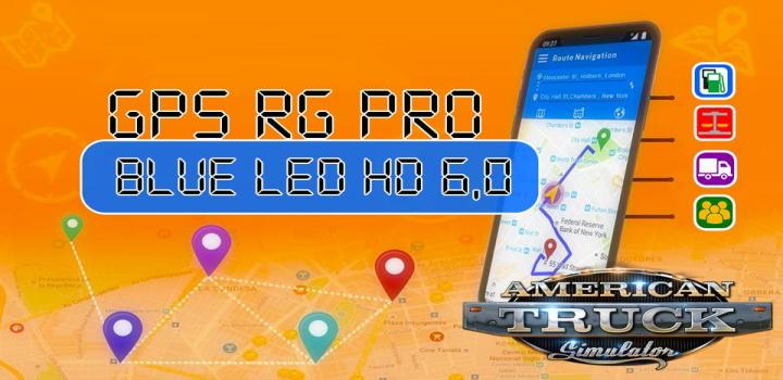 Photo of ATS – Gps Rg Pro Blue Led Hd V6.0 (1.39.x)