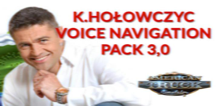 Photo of ATS – K.holowczyc Voice Navigation Pack V3.0 (1.39.x)
