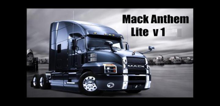 Photo of ATS – Mack Anthem Lite V1.0 (1.39.x)