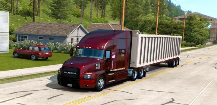 Photo of Ownable Ti-Brook Scrap Tipper Trailer ATS 1.39