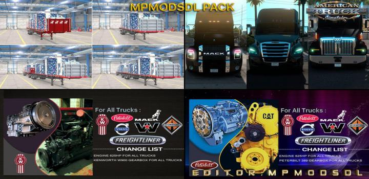 Photo of Single-Multiplayer Mod Pack ATS 1.39