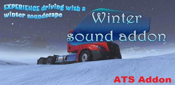 Photo of ATS – Sound Fixes Pack Winter Sound Addon (1.39.x)