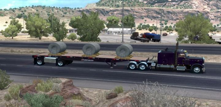 Photo of The Benson Flatbed Ownable V1.2 ATS 1.39