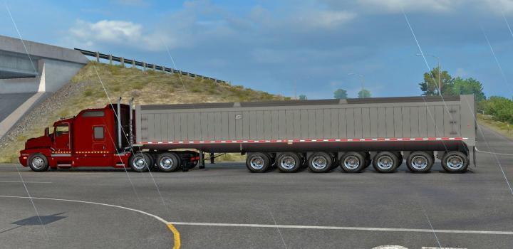 Photo of ATS – The East 7-Axle End Dump Ownable (1.39.x)