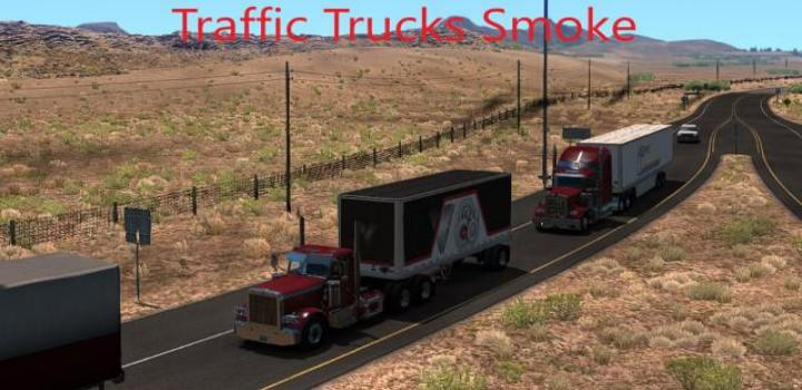Photo of ATS – Traffic Trucks Smoke V1.4 (1.39.x)