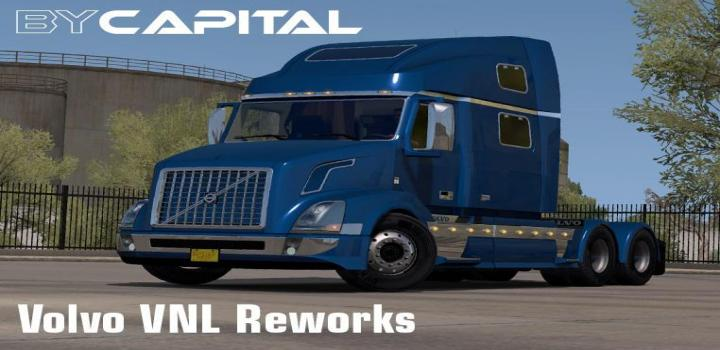 Photo of Volvo Vnl Reworks V24.01.21 ATS 1.39