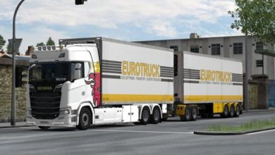 Photo of ETS2 – BDF Tandem Truck Pack V139.10 (1.39.x)