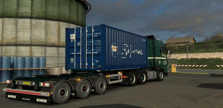 Photo of Arnooks Scs Containers Skin Project V7.0 ETS2 1.39