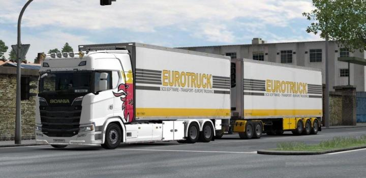 Photo of Bdf Tandem Truck Pack V139.40 ETS2 1.39