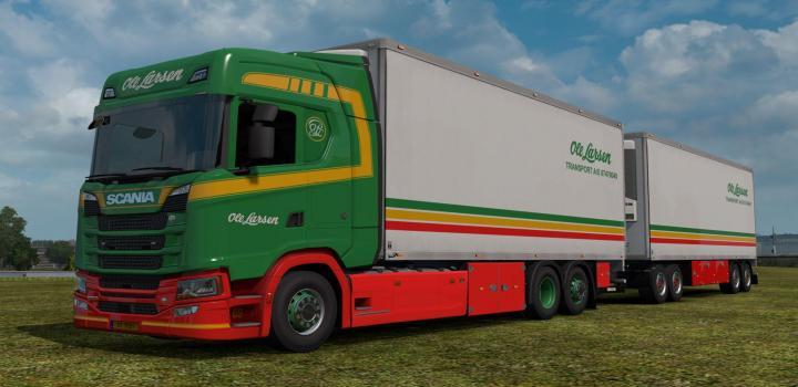 Photo of Bdf Tandem Truck Pack V139.50 ETS2 1.39