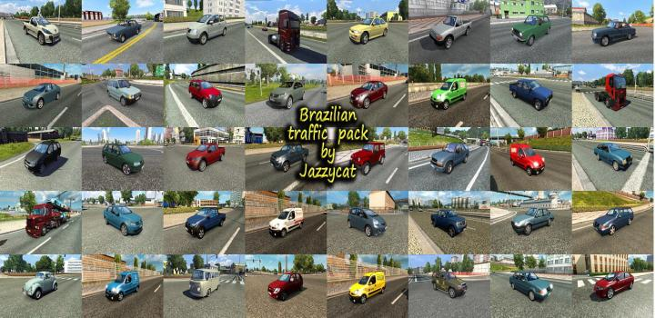 Photo of ETS2 – Brazilian Traffic Package V2.9 (1.39.x)